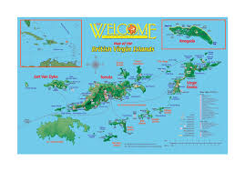 Big Map Of North America by Large Tourist Map Of British Virgin Islands British Virgin