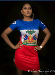 Flag Dress Haitian Flag Shirt Dress