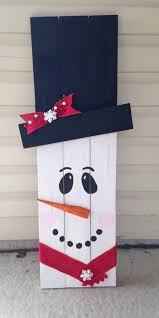 wooden snowman primitive reclaimed wooden snowman great addition to your