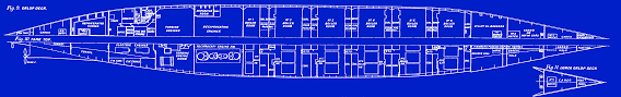 Boat Floor Plans The White Star Liners Olympic And Titanic