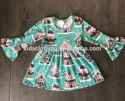 wholesale fall boutique dress girls christmas holiday designs 2017