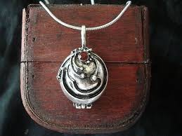 ebay necklace silver images The vampire diaries elena 39 s antique silver locket necklace ebay jpg