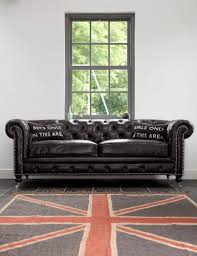 black leather chesterfield sofa with design picture 16056 imonics