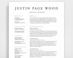 resume design minimalist games for girls minimalist resume etsy