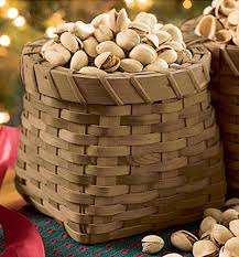 nut baskets sided nut basket for opened and unopened shells the green