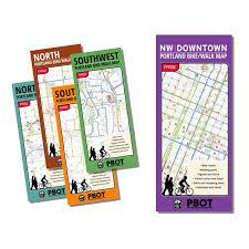 Portland Neighborhood Map Poster by Transportation Store U2014 Go Lloyd