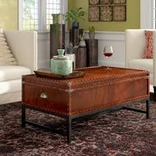 Trunk Style Coffee Table Coffee Table Trunk Style Wayfair