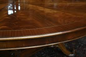 large round dining table large round mahogany table large round