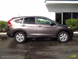 urban titanium metallic 2012 honda cr v ex exterior photo