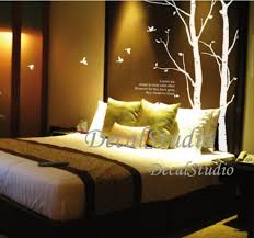 trees and birds vinyl wall decal sticker bedroom home decor