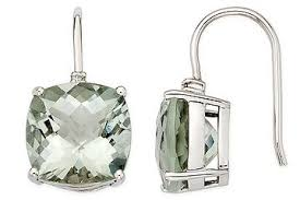 green amethyst earrings tresor green amethyst chain drop earrings