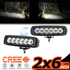 Led Work Light Bar by 6