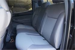 Toyota 60 40 Bench Seat 2015 Toyota Tacoma Double Cab Rear 40 60 Split Bench Seat Covers