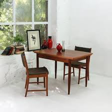vintage teak dining table with pull out leaves 1960s design market