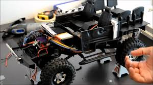 jeep defender interior rc hobby 1 10 scale land rover defender d90 scx10 with td5 sound