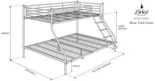 bunk bed measurements bunk bed dimensions between beds roole bed dimensions between