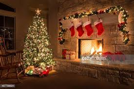 Christmas Tree Decorated With Stockings by Christmas Tree Stock Photos And Pictures Getty Images