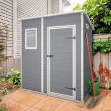 abris de jardin resine petit abri de jardin en résine 1 6 m ep 16 mm premium 64