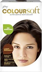 Hair Color Light Brown Buy Godrej Coloursoft Crème Hair Colour Natural Brown 80ml 24g
