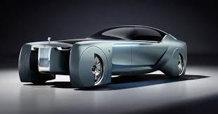 roll royce rolyce rolls royce ditches the chauffeur in this futuristic concept car