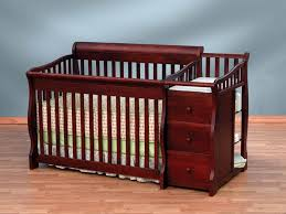 Baby Mini Cribs by Mini Crib With Changing Table Attached Pictures U2014 Thebangups Table