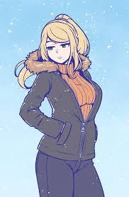 Samus Meme - samus is still ready for winter metroid meme and nintendo