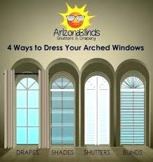 Palladium Windows Window Treatments Designs Arched Window Treatment Ideas Arched Window Drapes Attractive