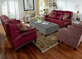 Wood And Leather Chair With Ottoman Design Ideas Fabric Ottoman Decor Living Room Ideas With Polished Solid Wood