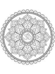 chakra mandalas coloring pages free printable chakra