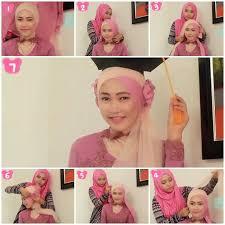 tutorial jilbab dua jilbab 80 best party hijab images on pinterest hijab styles turban hijab