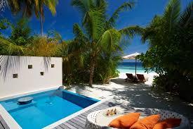 per aquum huvafen fushi deluxe beach pool villa