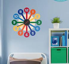 stickers pour chambre ado stickers horloges pour chambre ado tenstickers