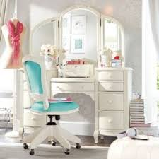 girls desk vanity foter