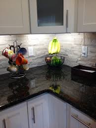Blue Backsplash Kitchen Interior Faux Stone Backsplash Kitchen Searchotelsinfo Stone