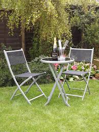 Amazon Garden Table And Chairs Uk Gardens 3 Piece Bistro Set For 2 Folding Garden Patio Set For