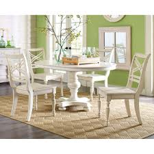 delightful design white round dining table set surprising ideas