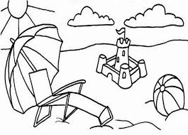sand castle coloring free download