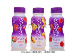 dannon light and fit yogurt drink alameda ca august 20 2017 bottles stock photo royalty free