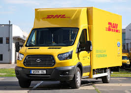 ford and deutsche post dhl debut first electric delivery van fortune