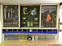 Woodworking Plans Garage Storage Cabinets by Tool Storage Wall Cabinet Easy Diy Projects Walls And Tool Storage