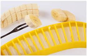 coupe banane cuisine le banana cutter il coupe vos bananes en quelques secondes