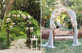 wedding arch garden how to decorate outdoor wedding original ideas for