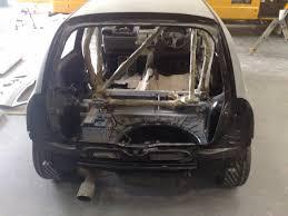 clio 172 track car build interior paint