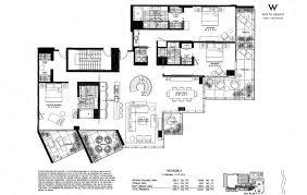 Vizcaya Floor Plan W South Beach Julian Johnston Real Estate Miawaterfront