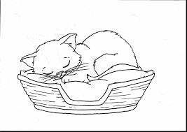 excellent cats and kittens coloring pages with kitten coloring
