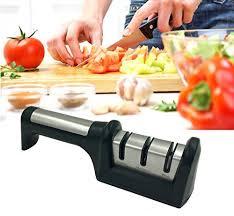 sharpening ceramic kitchen knives dezcat knife sharpener ceramic roll sharpener stainless steel