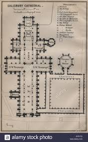 Cathedral Floor Plan Salisbury Cathedral Salisbury Cathedral Floor Plan Wiltshire