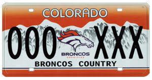 Il Vanity Plates Denver Broncos Broncos License Plates