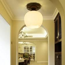 Hallway Pendant Lighting Flower Retro Industrial Glass Shade Pendant Ls Ceiling