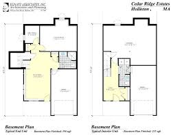 free house plans with basements basement house plans walkout basement floor plan trend dining table